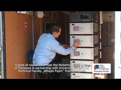 Transboundary air quality monitoring in Banat region
