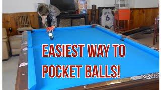 Easiest Way to Pocket Balls in Pool! | Pocket Speed