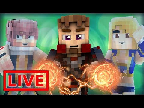 Minecraft FAIRY TAIL ORIGINS LIVE #11.1 (Minecraft Modded Roleplay)