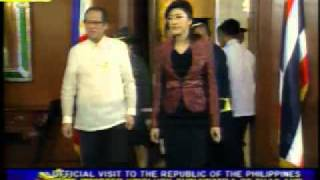 Joint Press Conference of Pres. Benigno S. Aquino III and PM Yingluck Shinawatra [Jan. 19 2012]