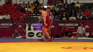Round 4 GR - 71 kg: Pat Smith (USA) df. Guilleon SILVA (BRA) by TF, 9-0