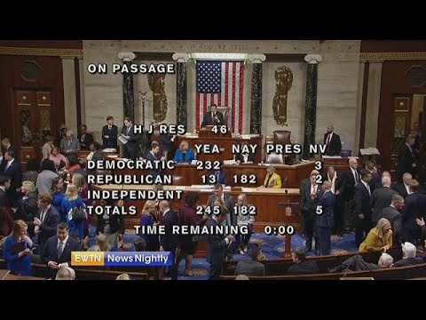 Senate has votes to reject President's national emergency - ENN 2019-03-04
