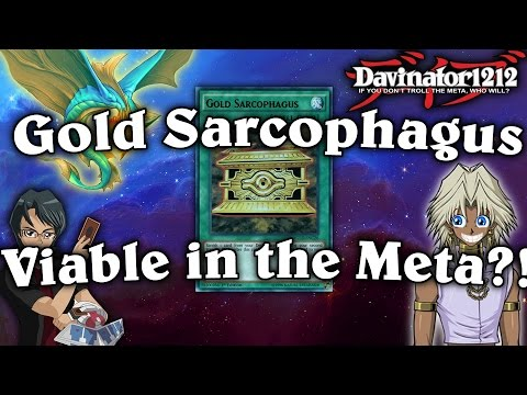 Gold Sarcophagus is a Viable Card!? Yu-Gi-Oh! Card Discussion!