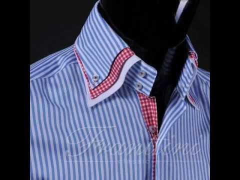 Мужские рубашки. Сорочка неотъемлемая деталь гардероба настоящего мужчины. Правильно подобранная рубашка подойдет и для деловой встречи, и для приятного вечера в дружеской компании. Разнообразие покроя подчеркнет достоинства фигуры, а большой выбор рисунка и цвета ткани.
