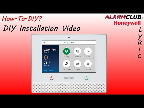 How to Install the Honeywell Lyric Security System?