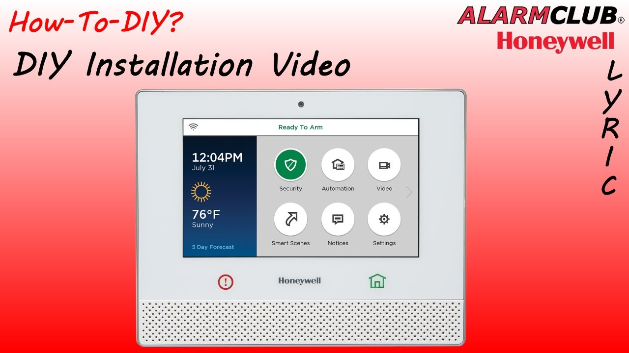 How to install the honeywell lyric security system youtube how to install the honeywell lyric security system solutioingenieria Image collections