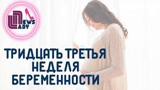 видео 33 неделя беременности