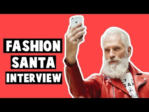 Paul Mason is Fashion Santa | Pop & Press