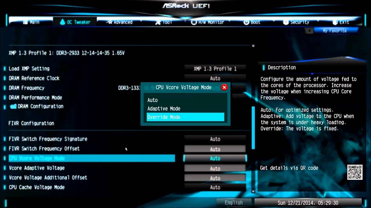 ASRock Z97 Pro 4 [General CPU OC Guide] Overclocking Guide