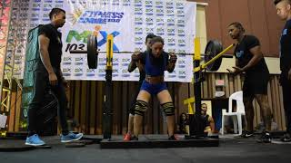 FITNESS CARIBE 2018-POWERLIFTING WOMEN FINAL MOVEMENT