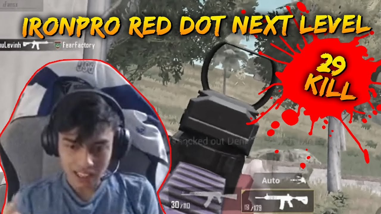 You See This RedDot Next Level | IronPro GamePlay | PUBG Mobile Malaysia