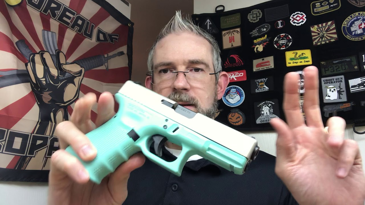 What Do You Think About The Real Glock Pistol That Was Disguised As A Toy Nerf Gun