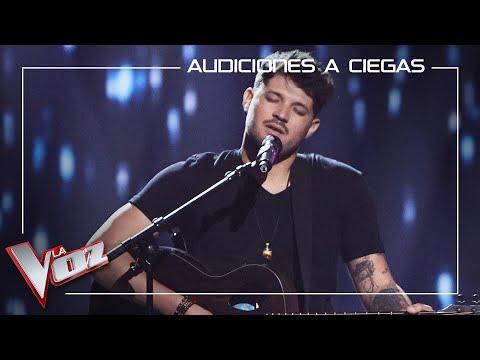 Pablo Hernández canta 'Bachata rosa'   Audiciones a ciegas   La Voz Antena 3 2021