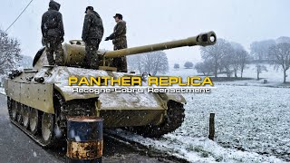 """Panther Replica Made from a BLG-67 """"Recogne-Cobru Reenactment"""" 60 fps"""