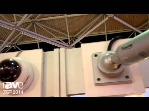 ISE 2014: SECOMP Showcases Indoor and Outdoor Cameras