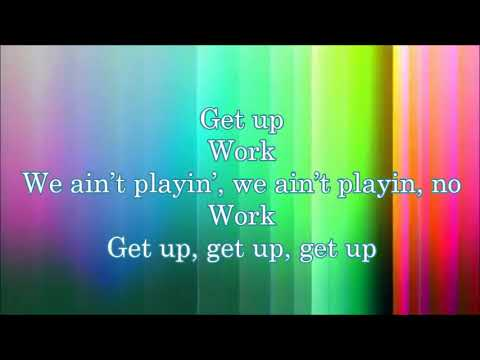 Blanca Get Up (Lyric Video)