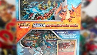 Opening A Pokemon Mega Charizard X Box!
