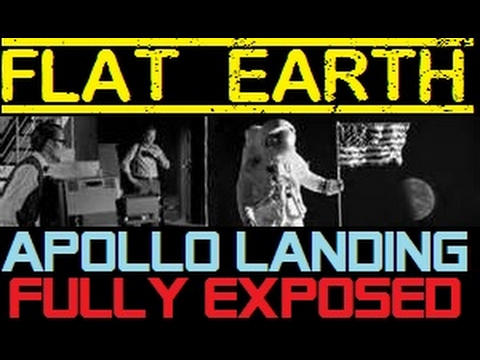 FLAT EARTH | APOLLO LANDING FULLY EXPOSED! (MUST SEE)