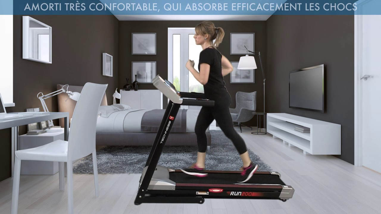 Techness Run 200 Mp3 Ltd Tapis De Course Tool Fitness Youtube