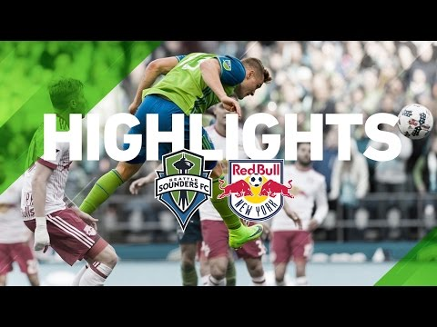 Highlights: Seattle Sounders FC vs New York Red Bulls