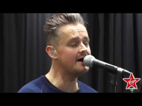 "Tom Chaplin plays ""Somewhere Only We Know"" on Virgin Radio"