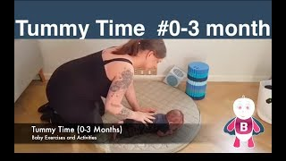 baby exercises and activities 0 3 months tummy time exercises baby development