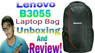 Lenovo B3055 Laptop Bag Unboxing & Review