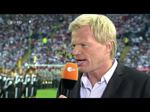 Deutschland - Paraguay - 14.08.2013 - Kaiserslautern - Einlauf