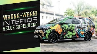 Warna Warni Interior Veloz Superhero