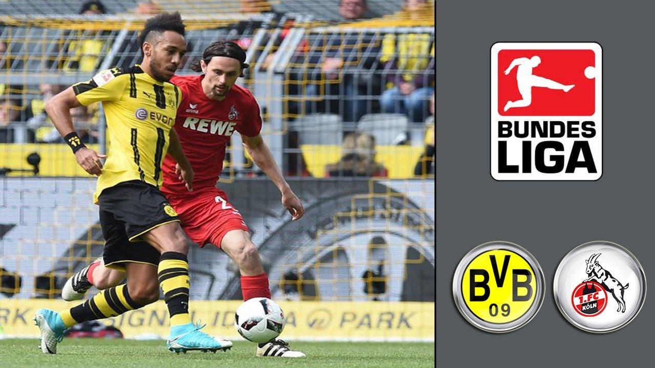 Borussia Dortmund Vs 1 Fc Köln ᴴᴰ 29042017 31spieltag 1