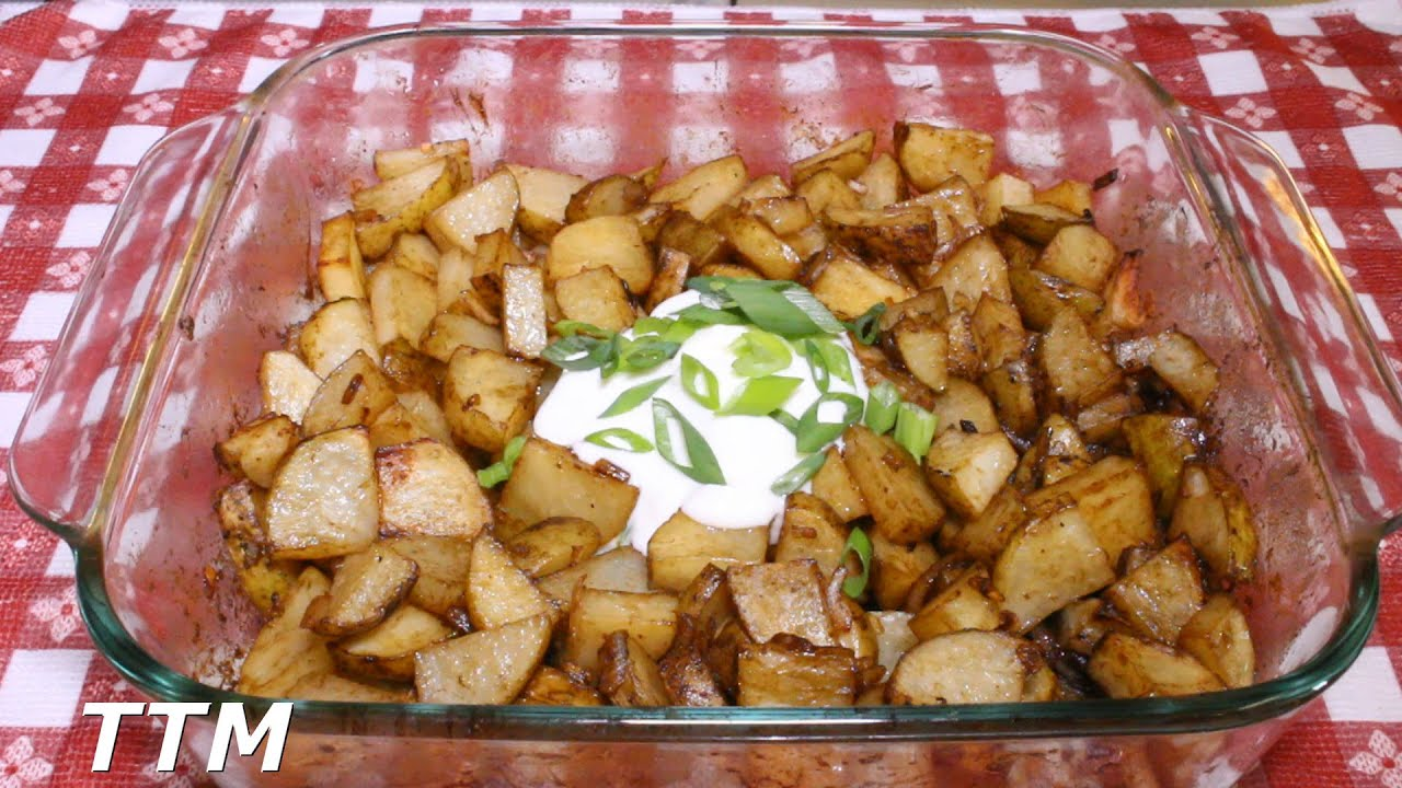 How To Make Baked Or Roasted Onion Potatoes In The Toaster Oven~easy  Inexpensive Side Dish