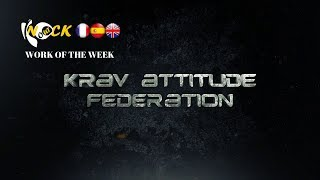 DIFFERENT WORKS ON A JACKET GRAB : Krav attitude fédération