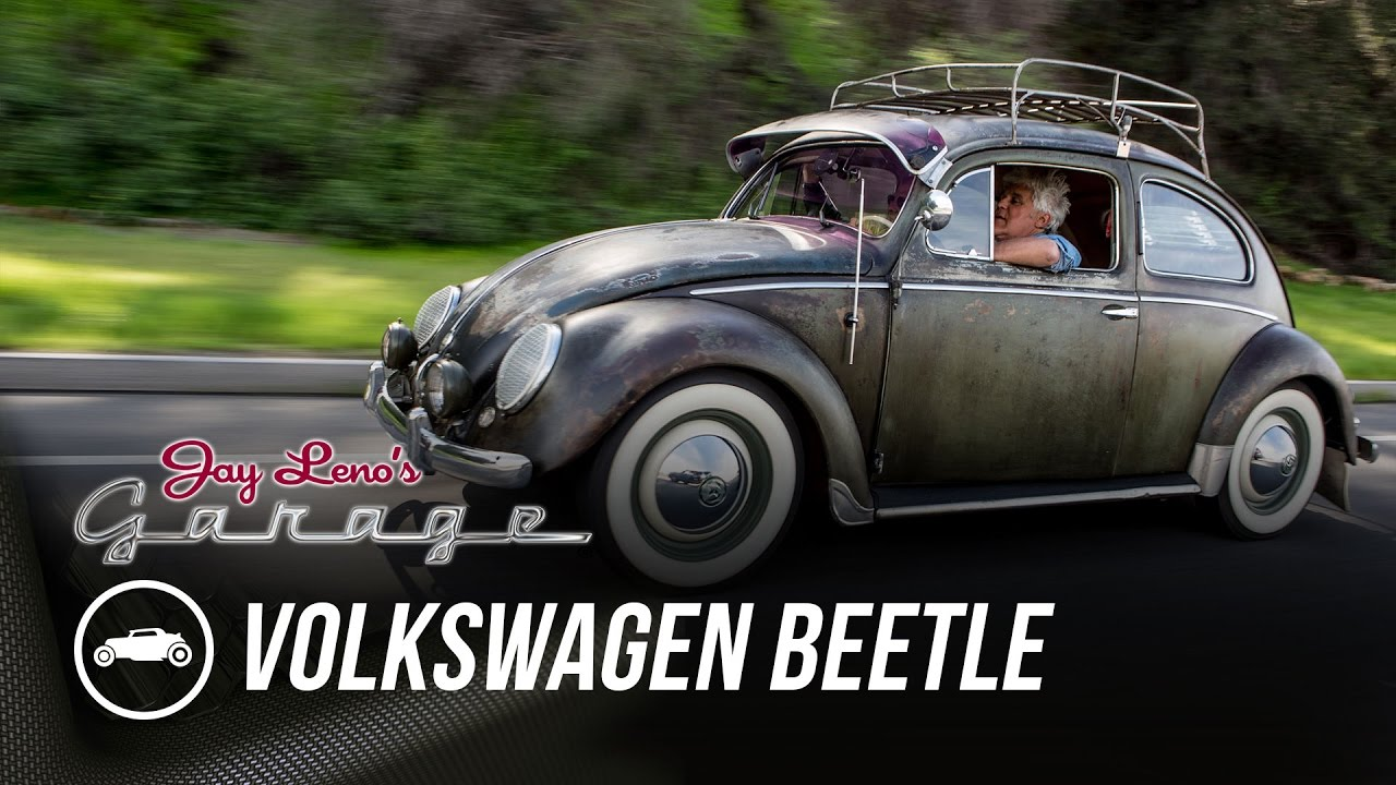 1955 volkswagen beetle jay leno 39 s garage youtube. Black Bedroom Furniture Sets. Home Design Ideas