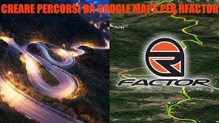 Guidare su qualsiasi strada esistente su rFactor grazie a Google Maps