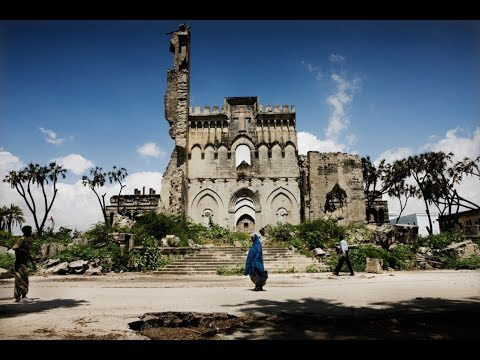 Mogadishu Old City , capital of Somalia, tourism in East Afr