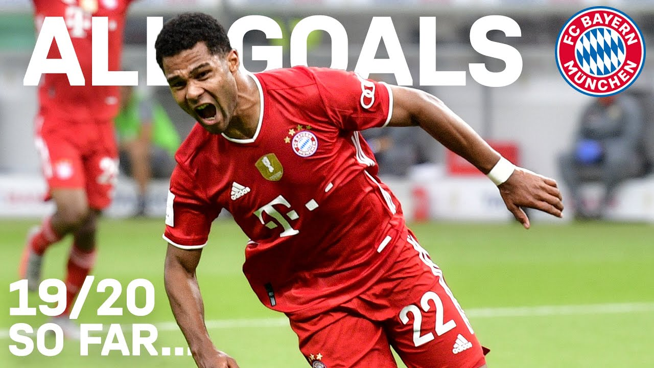 Serge Gnabry: All Goals of the Season for FC Bayern