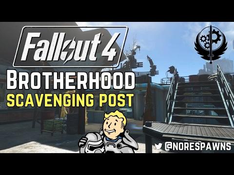 Fallout 4 - Brotherhood of Steel Scavenging Post