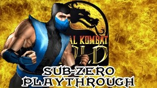Mortal Kombat Gold Sub-Zero Playthrough (Difficulty : Ultimate) HD 60fps
