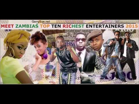 TOP 10 RICHEST ZAMBIAN CELEBRITIES