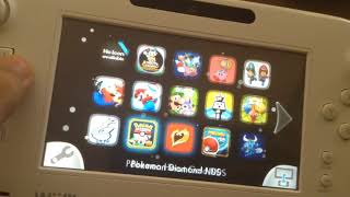 Running Homebrew launcher on Wii U 5.5.2 And loading backup games!