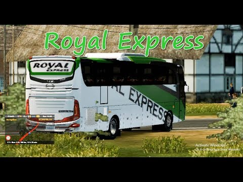 Ets2- Royal express vs Asia air con vs BD other bus | Reckless driving