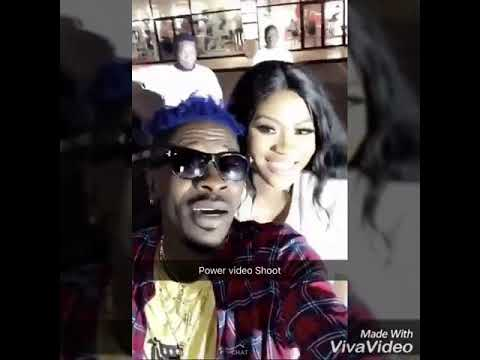 "Eazzy shoots ""Power"" music video with Shatta Wale"