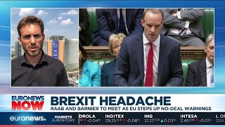 Brexit Headache: Raab and Barnier to meet as EU steps up no-deal warnings