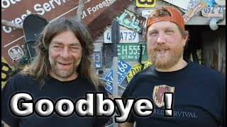 GOODBYE Headed Out On The 30 Day Survival Challenge Canadian Rockies