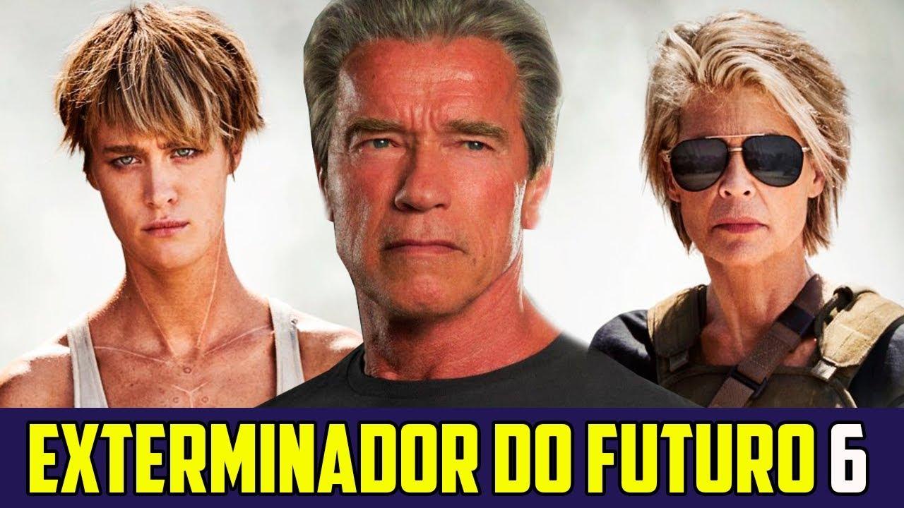 Resultado de imagem para o exterminador do futuro 6 logo
