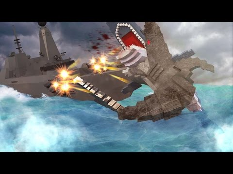 Minecraft | Jaws Movie 2 - GIANT SHARKS BATTLE TO THE DEATH! (Minecraft Roleplay) #5