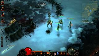 Diablo III - Four Player Co-Op Part Cricket - General Confusion and Anguish (Bonus Footage)