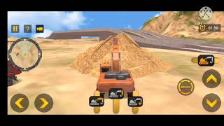 Heavy excavator simulator pro game :Jcb trick game part-1 screenshot 4