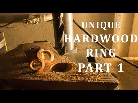 Making A Bespoke Unique Hardwood Ring!! - Part 1