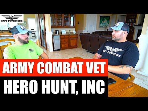 Hero Hunt, INC 2019 Jeff Springer Wounded Warrior Veteran's Day Deep Sea Fishing St George Island FL